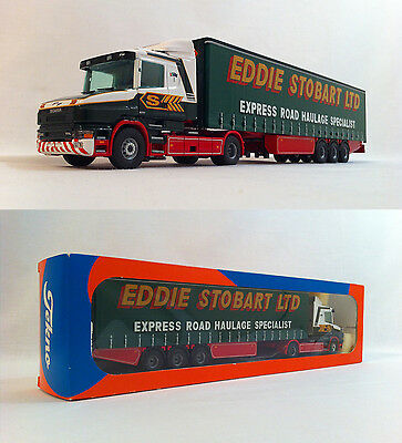 2001 Tekno Eddie Stobart #89 Scania British Collection 1:50 Scale Boxed Nr Mint