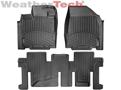 WeatherTech SUV FloorLiner for Pathfinder//JX//QX60-1st//2nd//3rd Row Cocoa