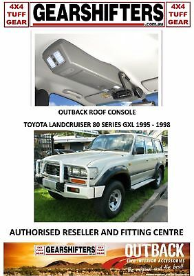 Outback Accessories Roof Consoles 4X4 Toyota Landcruiser 80 Series Gxl 95 To 98