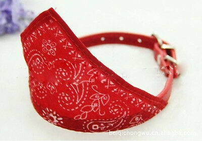 RKK PET COLLAR BOW TIE DOG ACCESSORIES PET SUPPLIES SCARF TRIANGLE HG-0005 RED