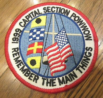 ROYAL RANGERS RR UNIFORM PATCH CAPITAL SECTION POW WOW REMEMBER THE MAIN THINGS