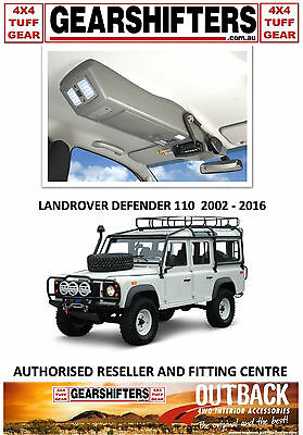 Outback Accessories Roof Consoles Landrover Defender Wag 2002 On Uhf Radio 4X4