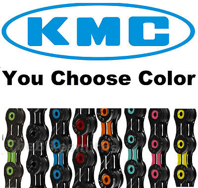 KMC X11SL DLC ASSORTD COLORS 11 Speed Road CX Bike Chain fits SRAM Shimano Campy