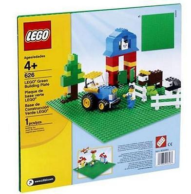Lego 626 Small Green Building Plate (10 x 10)