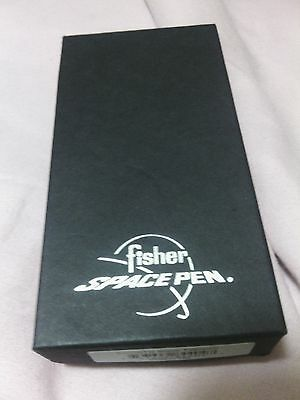 fisher space bullet pen#400btn blk titanium in gift box and outer box