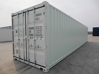 40' DV neu, Stahl-/Seecontainer,  Lager-/Materialcontainer, Depot Hamburg