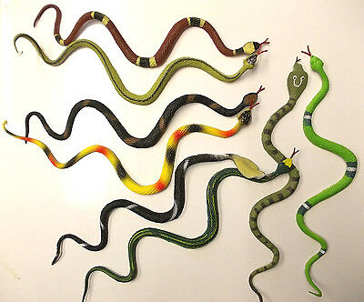 Rubber Snakes Medusa Gorgon Wig Hair Halloween Wholesale Party Filler Prop