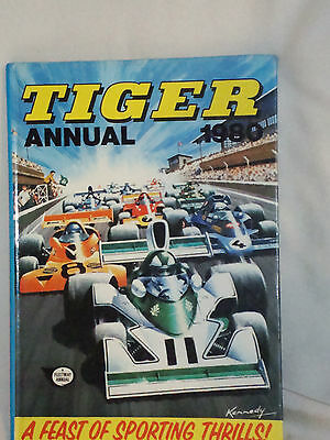 Tiger annual 1980. A feast of Sporting thrills. Price unclipped & Excellent con