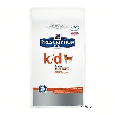 Dry Food Hills KD Prescription Diet Canine - Renal Health