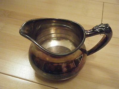 Vintage Wallace Silver Quadruple Creamer 8 oz, Lovely