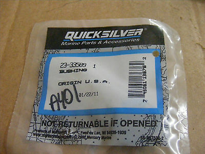 New Mercury Mercruiser Quicksilver Oem Part # 23-16176009 Bushing