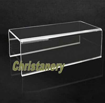 FREE SHIP ACRYLIC DISPLAY RISER Jewelry Showcase Fixtures