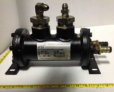 Thermal Transfer Products 500Psi Shell 150Psi Tube Heat Exchanger 4F351