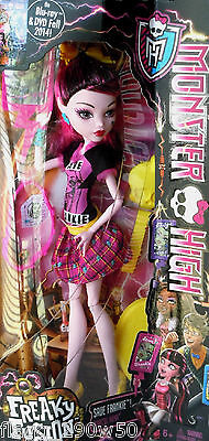*Monster High* FREAKY FUSION DRACULAURA DOLL SET- Save Frankie!!