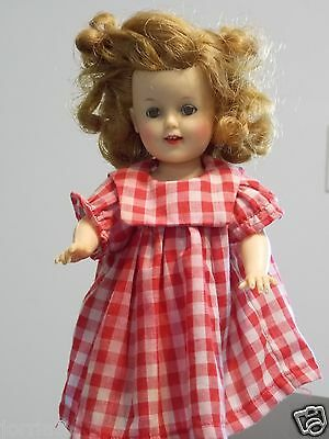 """Vintage Ideal Shirley Temple ST-12 Doll in Red Dress ~ 12"""""""