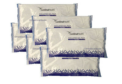 6-Cardinal Hlth Reusable Insulated Gel Hot/Cold Packs #80600(Formerly JackFrost)