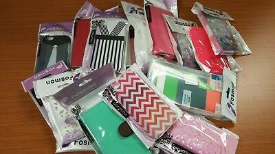 Wholesale Lot of 25 Brand New Fosmon Hard & Soft & Leather Phone Case iPhone 5C
