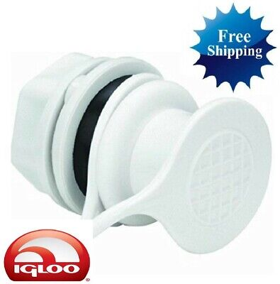 NEW* # 9562 Igloo Cooler Replacement Drain Plug Push Snap  25 to 54 quart 24010