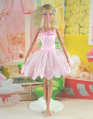 hot New Handmade Party Clothes Fashion Dress for Noble Doll *y44
