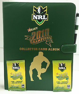 2010 Select NRL Champions Collectors Card Album (With pages)