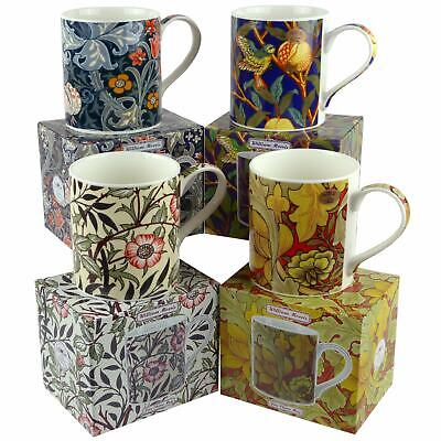 NEW Fine China WILLIAM MORRIS Vintage Floral Design MUG/CUP Leonardo GIFT BOXED