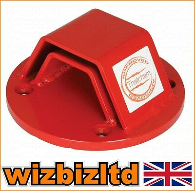 Thatcham Approved Motorcycle Bike Security Mammoth Bolt-In Ground Anchor GRD001