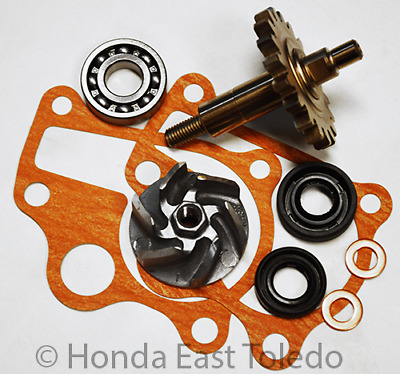 Honda Water Pump 97-01 Cr250R Shaft Impeller Oil Seals