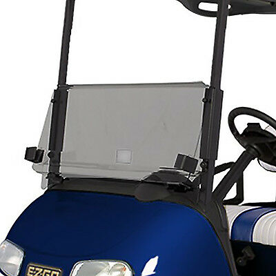 RecPro™ EZGO RXV CLEAR Windshield *New In Box*  Folding Acrylic