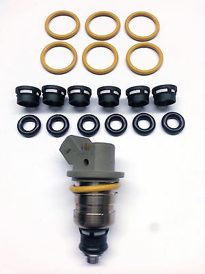 Motor Man 6 CYL Fuel Injector Service Kit 04861238AA Dodge Chrysler 3.3L 3.8L