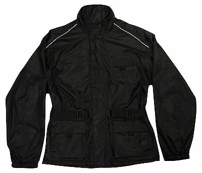 New Premium 100% Waterproof Over Jacket Road Bike Motorcycle Motorbike Scooter