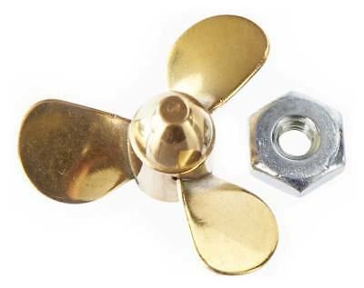 NEW Dumas 1  Brass 3-Blade Left-Handed Prop 1/8  3134