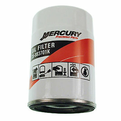 NIB OEM Mercury 6Cyl Oil Filter 35-883701K01 883701K01 9-57816