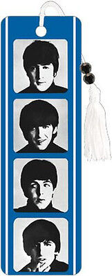 The Beatles Headshots - Bookmark - Brand New - Book Reading Gift Band 6173