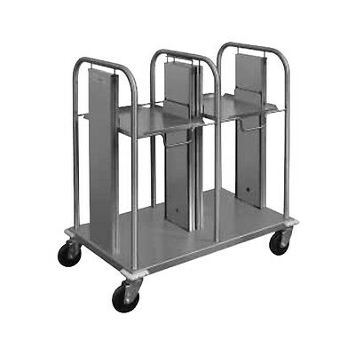 """Piper Products S/S Self-Leveling Mobile Tray Dispenser 20""""Lx32""""Wx36""""H PT/1216MO2"""