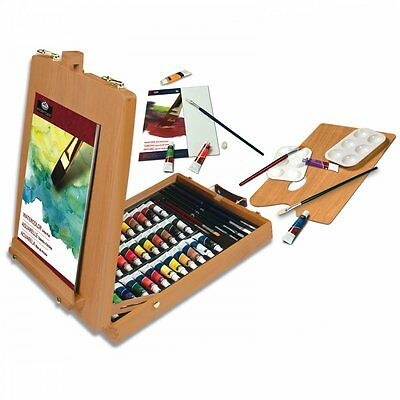 Artists 48 Piece All Media Art Set In Wooden Case By Royal & Langnickel