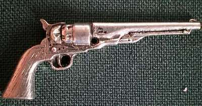 COLT ANSTECKNADEL PIN G17 ANTIQUE REVOLVER