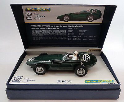 Scalextric Legends Vanwall Jose Froilan 1 of 2500 1/32 Slot Car C3404A