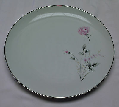 "12"" ROUND SERVING PLATTER BY CANTERBURY PATTERN #5211"