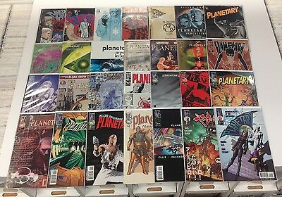 PLANETARY #1-27 FULL RUN/COMPLETE SET + READER WARREN ELLIS VF+/NM LOT OF 28