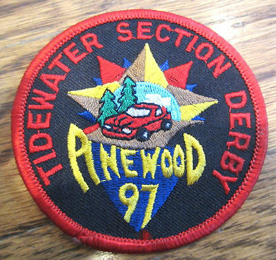 Tidewater Section Derby Pinewood 1997 Royal Rangers Rr Uniform Patch