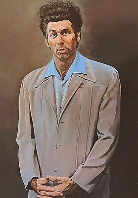 New The Kramer Painting Cosmo Seinfeld Tv Show Wall Art Print - Premium Poster
