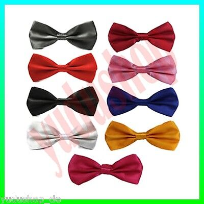 Bow Tie adjustable through Hook closure Free Choice of Colour