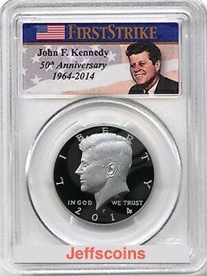 2014 P High Relief Silver PCGS PR70 Kennedy Half Dollar 50th Anniversary PF K13