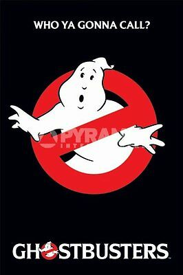 Ghostbusters Who Ya Gonna Call? Movie POSTER 61x91cm NEW ghost busters film logo