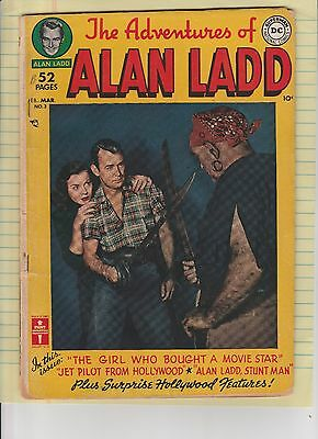 Adventures of Alan Ladd #3 from the original owner