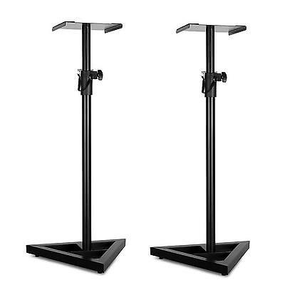 Soporte Para Altavoces Altura Pie Ajustable 2X Speaker Stand Apto Salon Estudio
