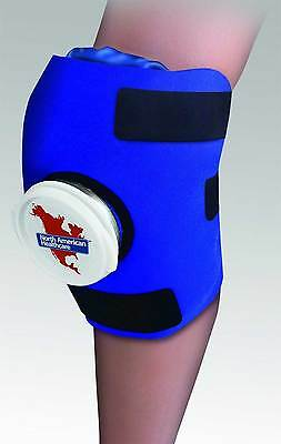 Knee Wrap ICE Bag Pack Cold Therapy Adjustable Sore Compression Swelling Swollen