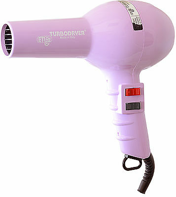 ETI 2000 Professional Hair Dryer Lilac 1500W Long Cord, 1 Nozzle, 2 Speeds