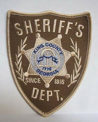 Walking Dead King County Sheriff Department Logo - Patch Uniform Aufnäher  neu
