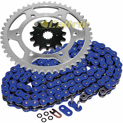 Volar O-Ring Chain and Sprocket Kit Blue for 1994-2007 Yamaha YZF600R